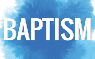 Five Reasons to be Baptized
