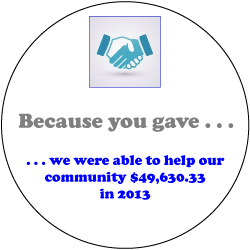 We are Able To Help our Community