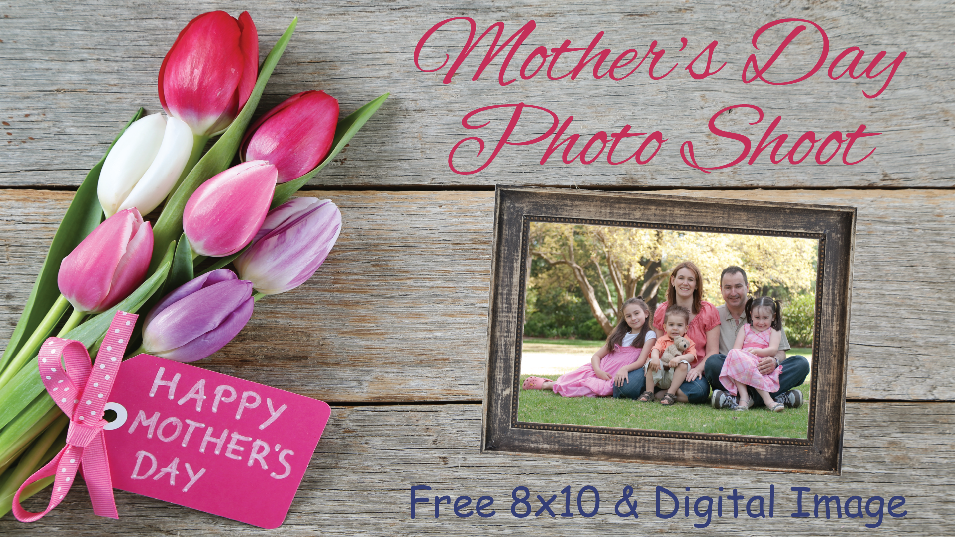 Celebrating Moms: Mother's Day Photoshoot