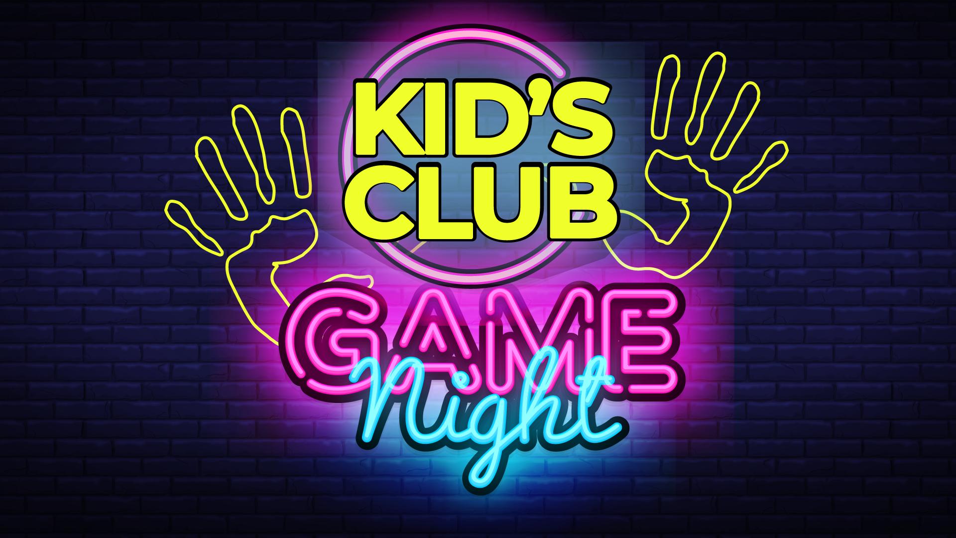 Kid's Game Night - 2020