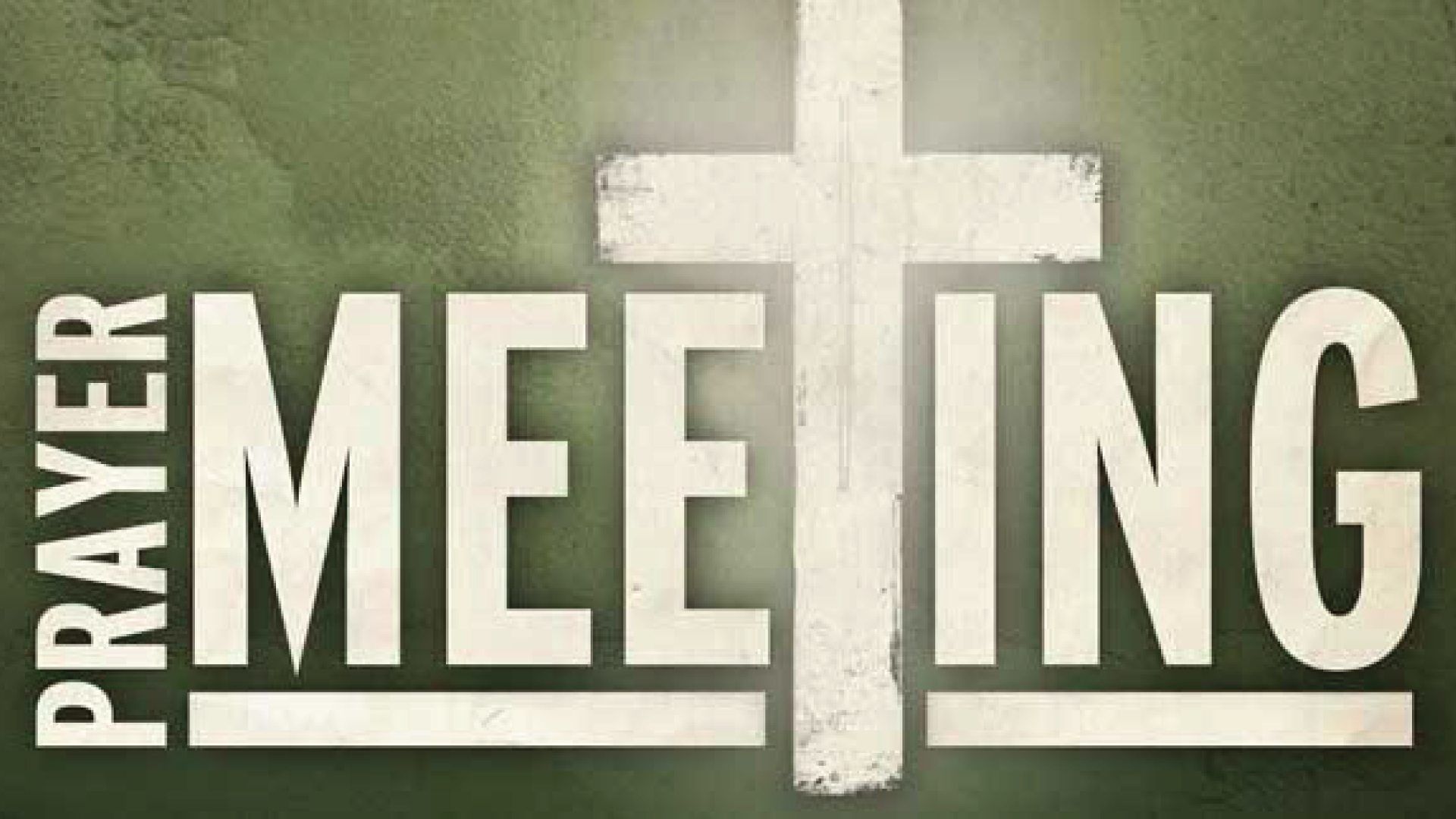 Prayer Meeting - Monthly Third Wednesday